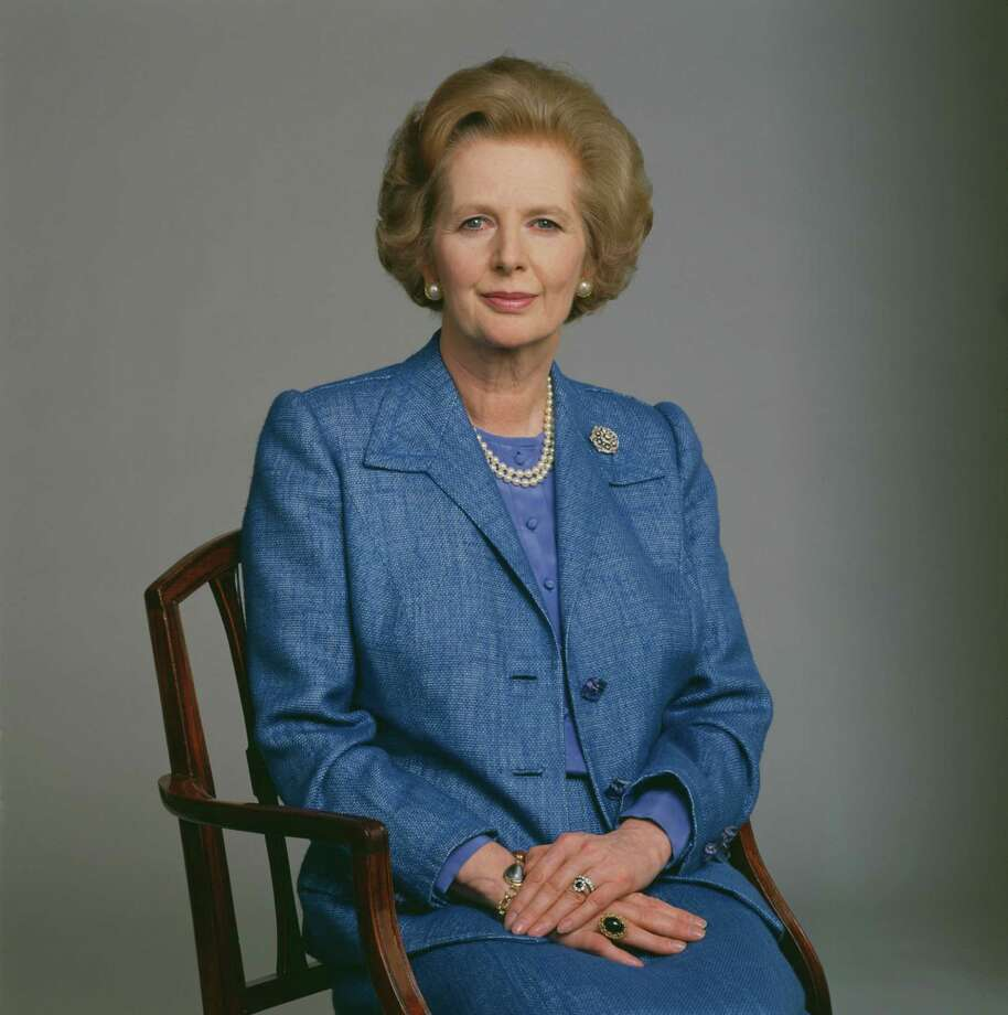 Margaret Thatcher, 1925-2013:Britain's first female prime minister died from a stroke on April 8 at the age of 87. Photo: David Montgomery, File / 2009 Getty Images