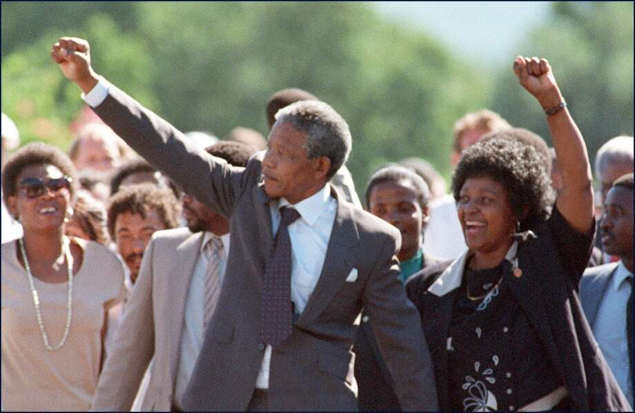 1. NELSON MANDELA. His death brought his triumph in a lifelong fight against racial discrimination back to the fore. He was a giant among giants, a leader of the tumultuous 20th century who wrenched social change from a viciously repressive government and inspired the world. Photo: ALEXANDER JOE, AFP/Getty Images