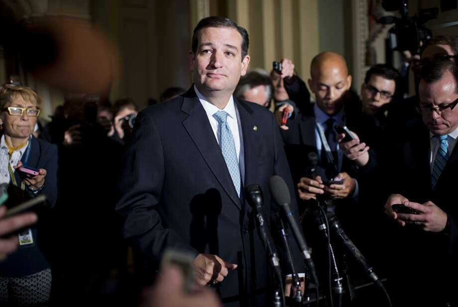 2. TED CRUZ. His made-for-TV faux-filibuster was one of the year's biggest media moments. Unsuccessful in his goal of repealing Obamacare, ultimately responsible for the government shutdown, the Texas junior senator succeeded in two things: Increasing his name ID and redefining political polarization. Photo: Tom Williams
