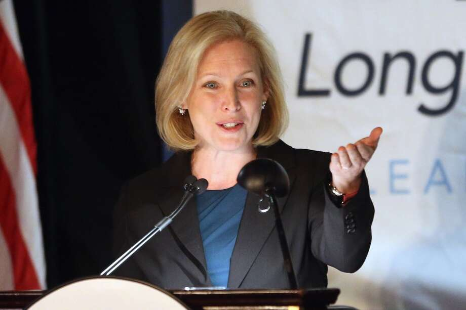 5. KIRSTEN GILLIBRAND: The junior senator from New York became a powerful symbol of the new order in the upper chamber. Unafraid to speak forcefully against the status quo and on behalf of the victims of a crime rarely reported and even more rarely successfully prosecuted, Gillibrand was a powerhouse in 2013. Photo: Bruce Bennett, Getty Images