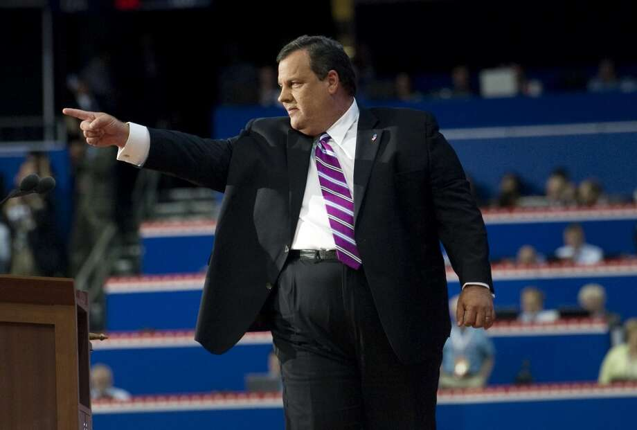 3. CHRIS CHRISTIE: For that matter, can he? Photo: Chris Maddaloni, Roll Call/Getty Images