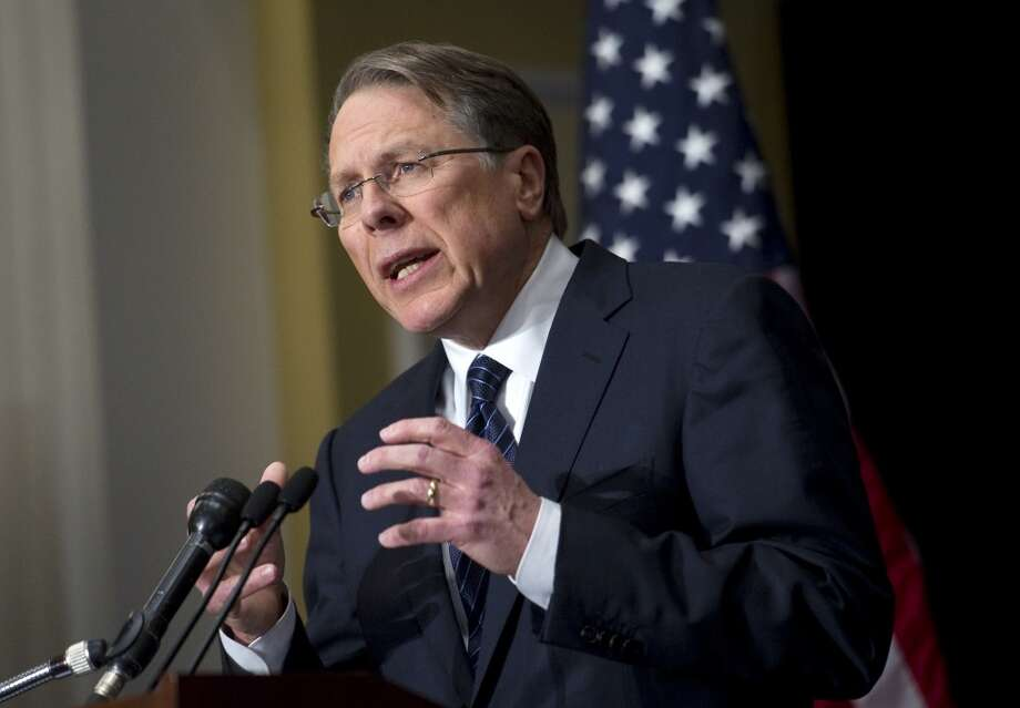 3. WAYNE LaPIERRE. Whatever you think of the NRA, does this man have any credibility left? Not a particle. Photo: Chris Maddaloni, Roll Call/Getty Images