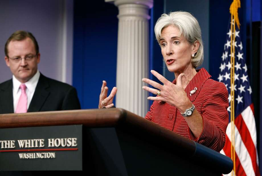 4. KATHLEEN SEBELIUS. It all happened on her watch: The worst Web roll out since Al Gore invented the Internet. The repeated inquisitions on the Hill, where she was by turns businesslike, exasperated and defiant. And the ongoing implementation of the Affordable Care Act itself, which became almost a sideshow in the feeding frenzy. Has a Secretary of Health and Human Services ever had a year like this one (and survived)? Photo: Chip Somodevilla, Getty Images