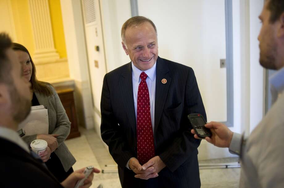 "2. STEVE KING: The Iowa super-conservative decided against a run for the Senate but did not shy away from controversy, with his racist remark about Mexican drug smugglers with ""calves the size of cantaloupes."" Photo: Chris Maddaloni, Roll Call/Getty Images"