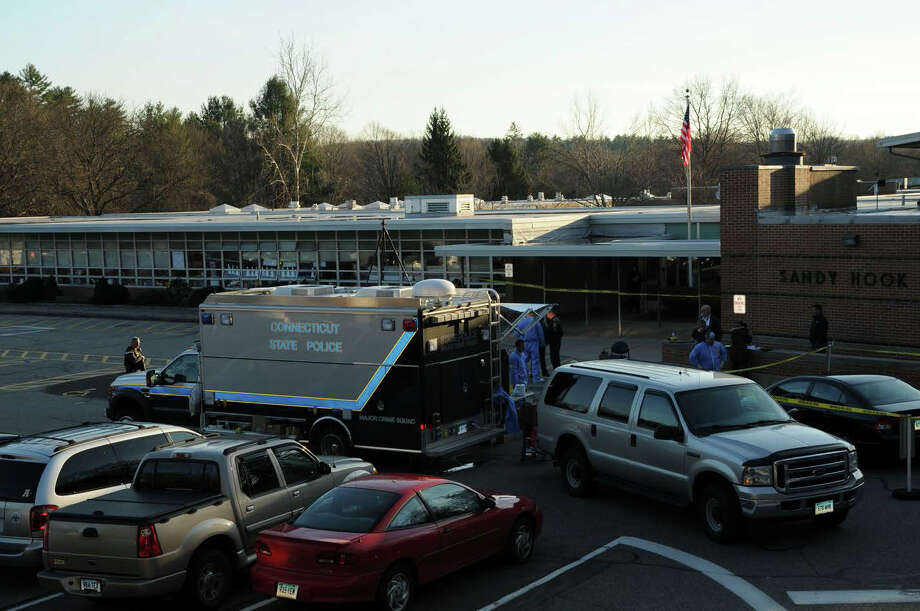 Photographs of Sandy Hook Elementary School in Newtown, Conn. from the full school shooting reports that were released by the Connecticut State Police on Friday, Dec. 27, 2013. Photo: Contributed Photo, Connecticut State Police / Connecticut Post Contributed