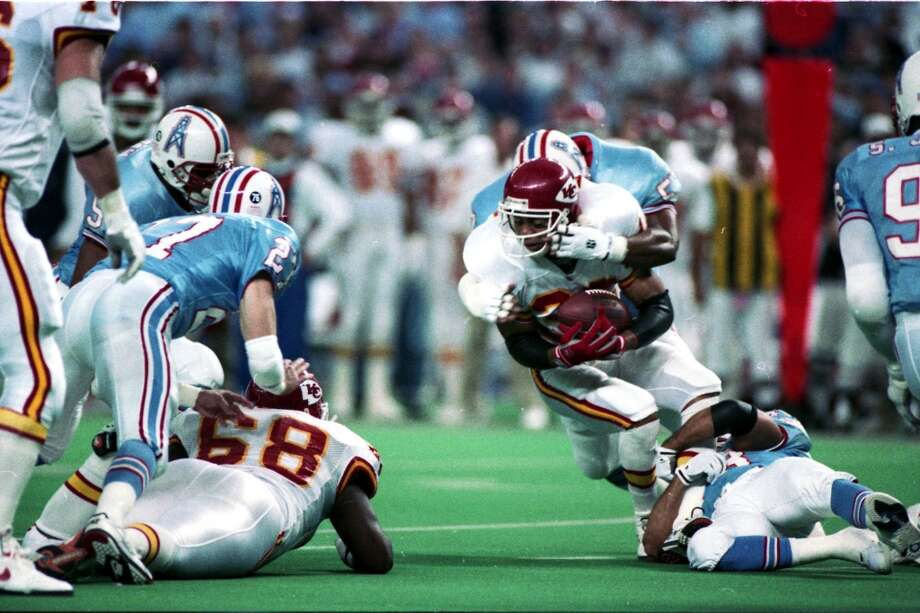 Houston Oilers v Kansas City Chiefs. Photo: Dave Einsel, Houston Chronicle