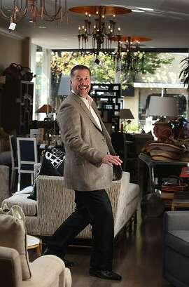 Principal Blair Morgan shows his studio in Menlo Park, California, on Thursday, November 14, 2013.