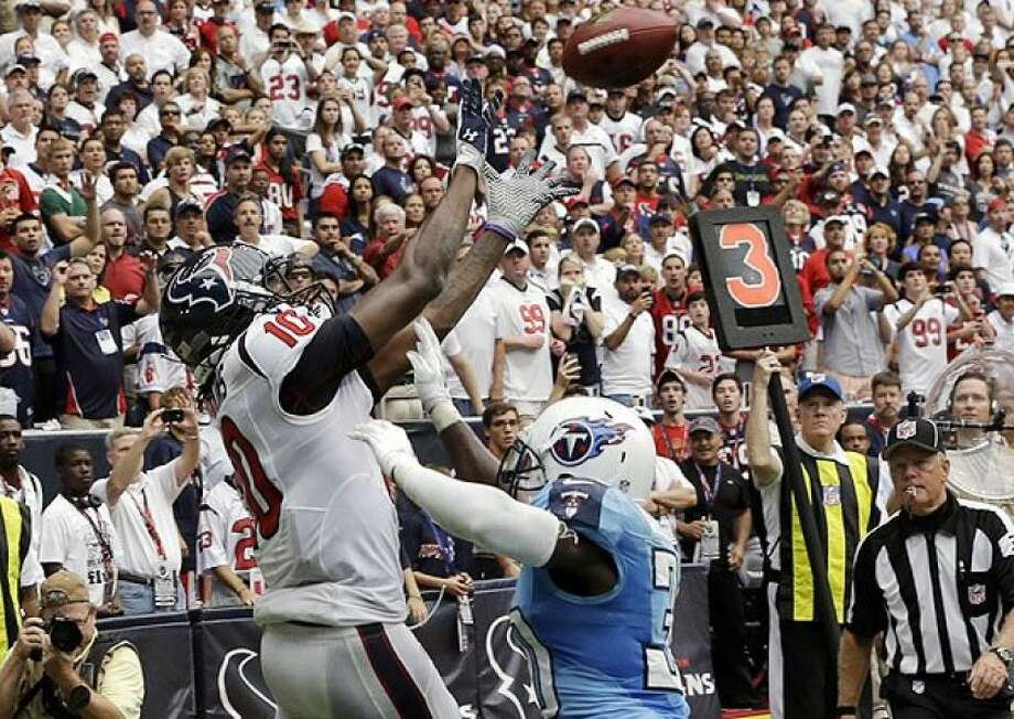 Hopkins overtime dramatics produced the last Texans in Round One with the Titans.