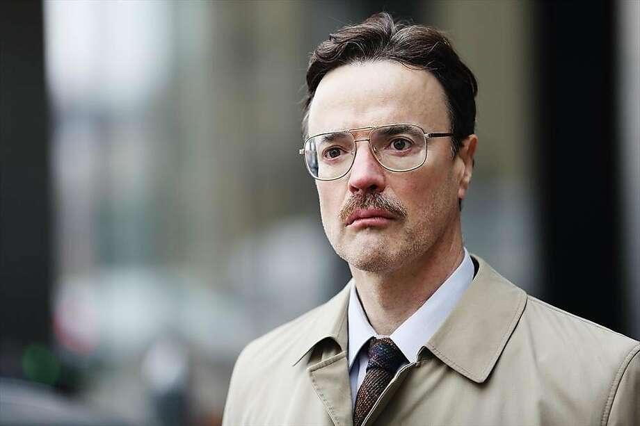 Paul Rhys is Aldrich Ames, the CIA mole. Photo: Adam J. Giese, ABC