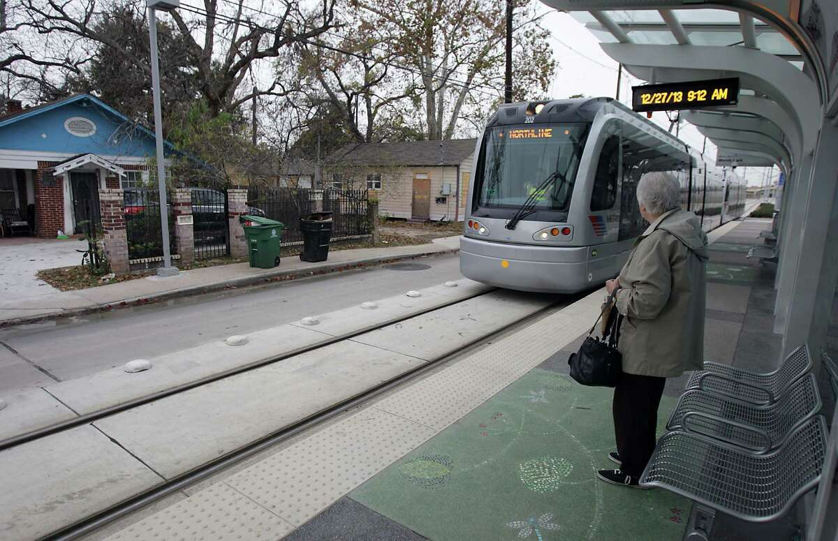 Former Metro bus patrons are becoming accustomed to the new rail extension's train schedule.