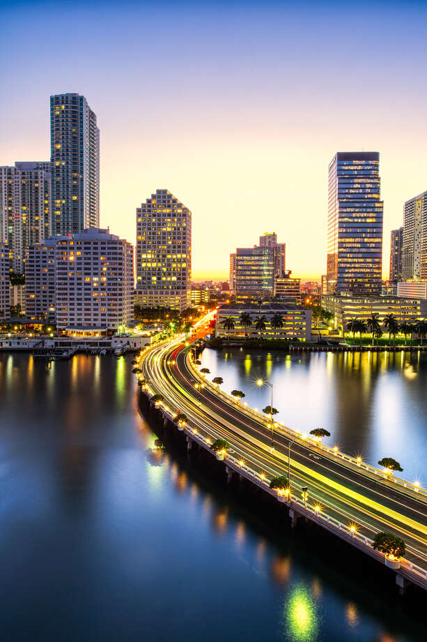 No. 6 soberest: Miami, Florida Photo: Eddie Lluisma, Getty Images / Flickr RF