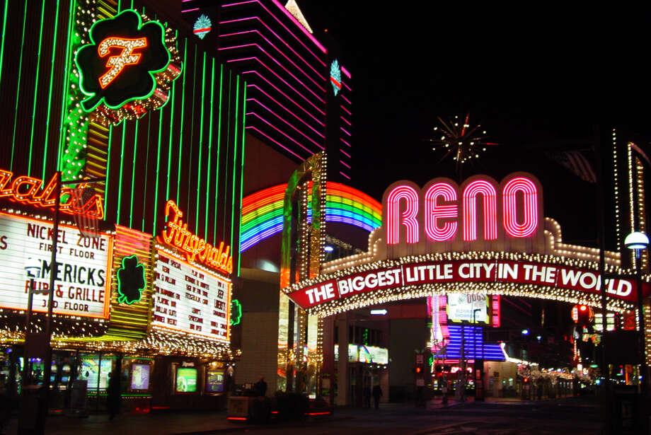 No. 10 drunkest: Reno, Nevada Photo: Marc Crumpler, Getty Images / Flickr RF