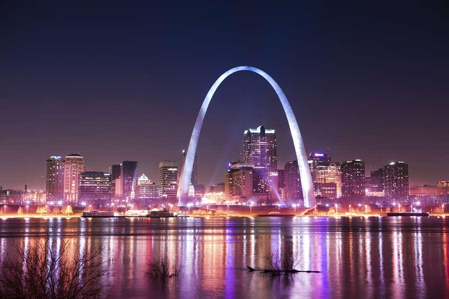 No. 9 drunkest: St. Louis, Missouri Photo: Pawel Gaul, Getty Images / Vetta