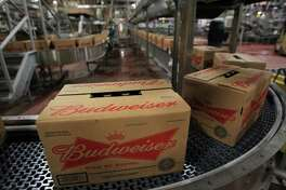 Anheuser-Busch InBev's brewery in Houston produces 16 brands, from Budweiser and Ziegenbock to Michelob Ultra and Select 55.