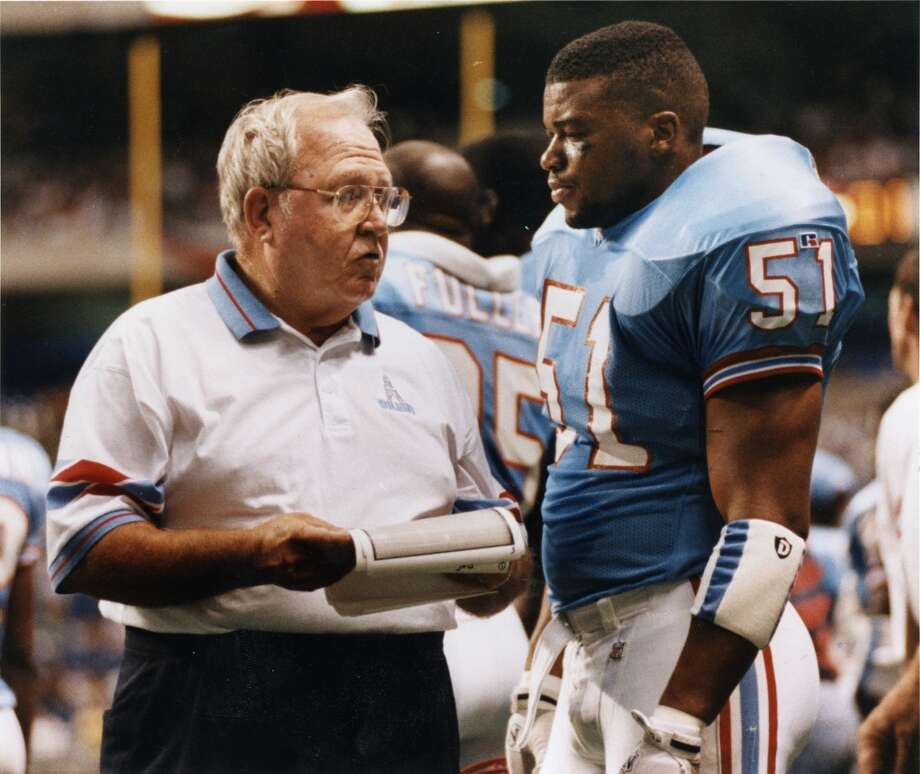Where are they now: 1993 OilersMichael Barrow