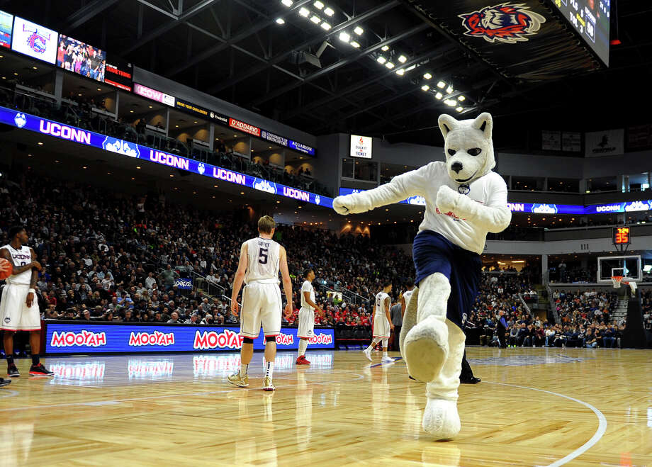 The UConn men's basketball team kicks off its season Friday. Scroll through for a look at the team's 2014-15 schedule.  Photo: Christian Abraham / Connecticut Post