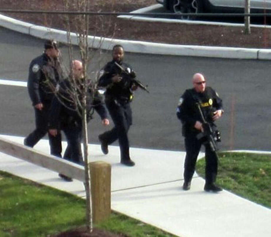 D. A witness, who saw a weapon, called police Photo: Contributed Photo, Andrew Merrill / Connecticut Post Contributed