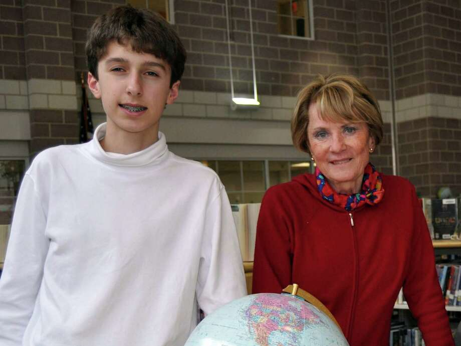 For the third straight year, Michael Borecki won the Connecticut Geography Bee. What town does he live in?A. Bridgeport B. Monroe C. Darien D. Stratford Photo: Contributed Photo, Andrew Merrill / Darien News