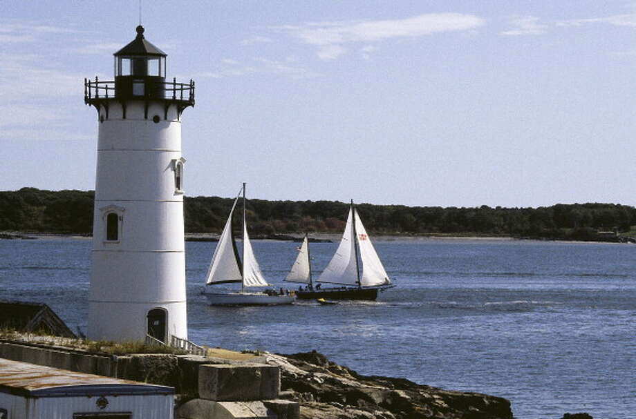 B. They're lighthouses Photo: IPS Lerner, Andrew Merrill / Universal Images Group Editorial