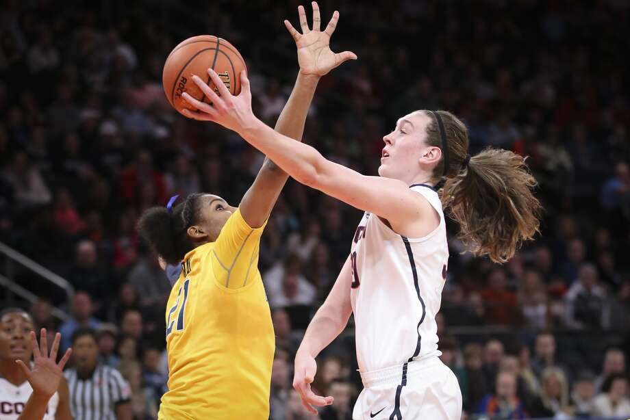 On April 9, the University of Connecticut women's basketball team defeated Louisville in the NCAA National Championship game. How many national championships have the UConn women won?A. 8 B. 6 C. 4 D. 3 Photo: Andrew Merrill