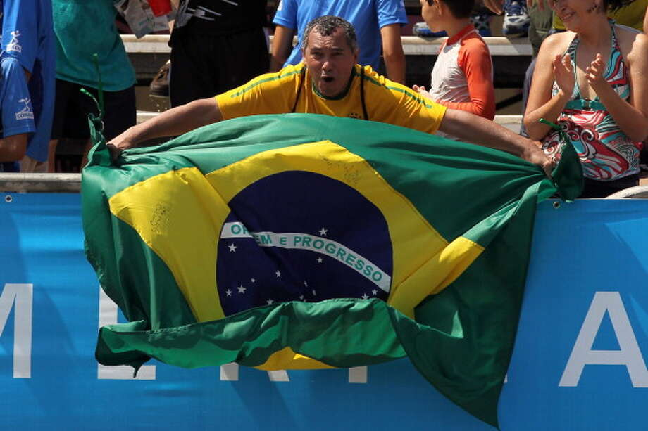 A. Back to Brazil, where the economy is booming Photo: Al Bello, Andrew Merrill / 2011 Getty Images