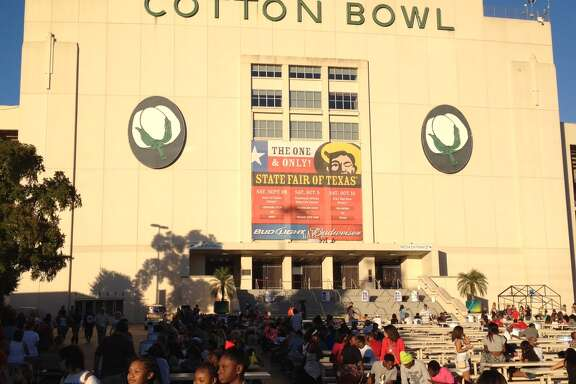 Shelby Powers of Justin was sure he named the Cotton Bowl.