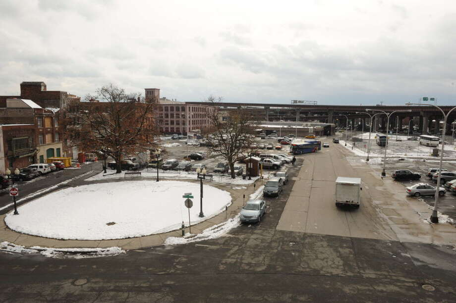 The redevelopment possibilities are nearly endless for the downtown land that was the planned home of the Albany convention center. (Michael P. Farrell/ Times Union)