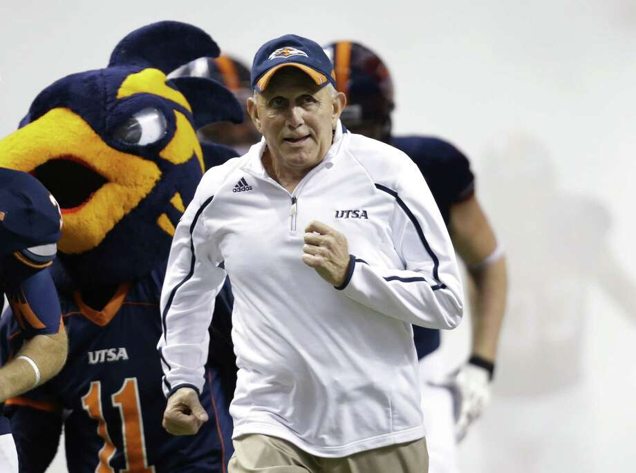 Coach Larry Coker was a major reason many of his players chose to come to UTSA. Photo: Eric Gay / Associated Press / AP