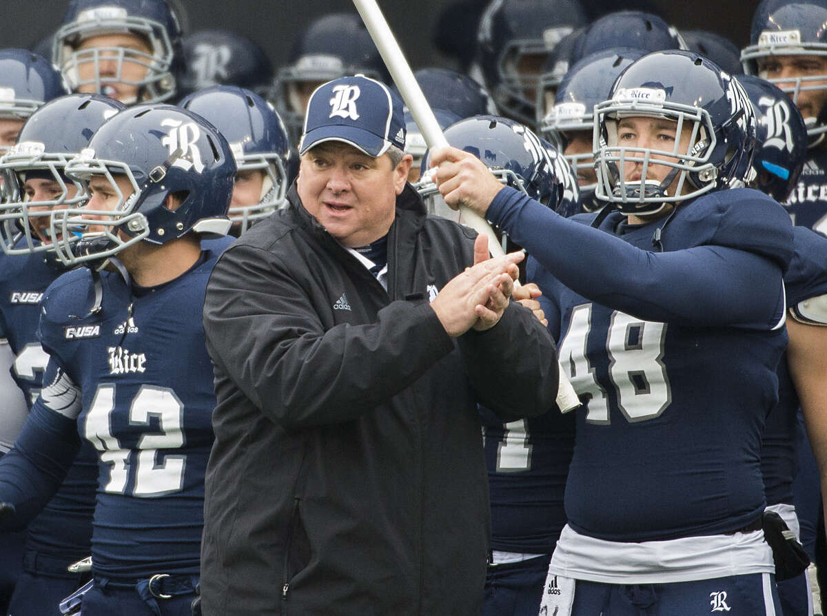 Coach David Bailiff directed the Owls to their first outright conference title in 56 years.