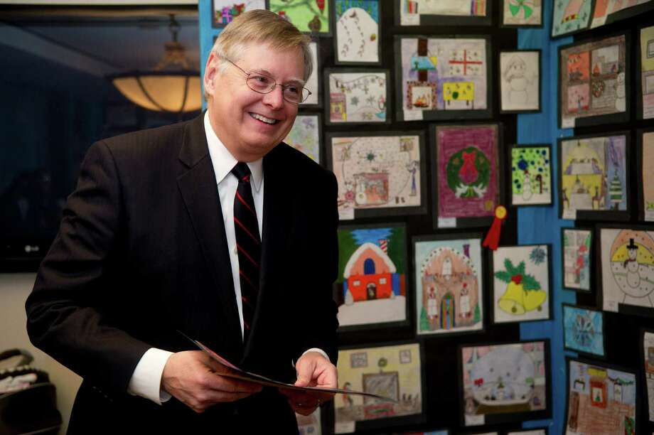 Mayor David Martin was one of this year's news shapers. Read the full list and more about Martin's impact in the print edition. Photo: Lindsay Perry / Stamford Advocate