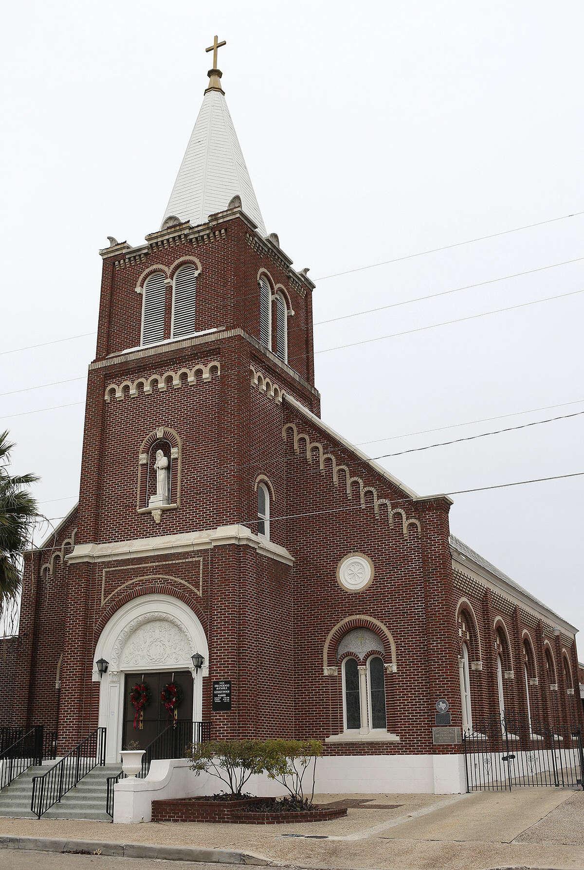 The Romanesque-style San Francesco di Paola Catholic Church was built in 1927 for the city's Italian Catholics.