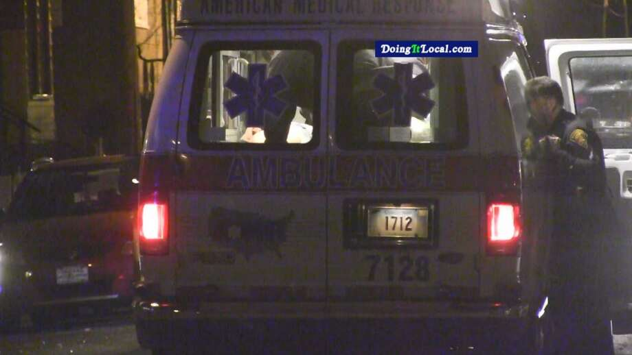 A man was shot in the leg Sunday morning at 1075 Kossuth St. and taken to Bridgeport Hospital. Photo: DoingItLocal.com