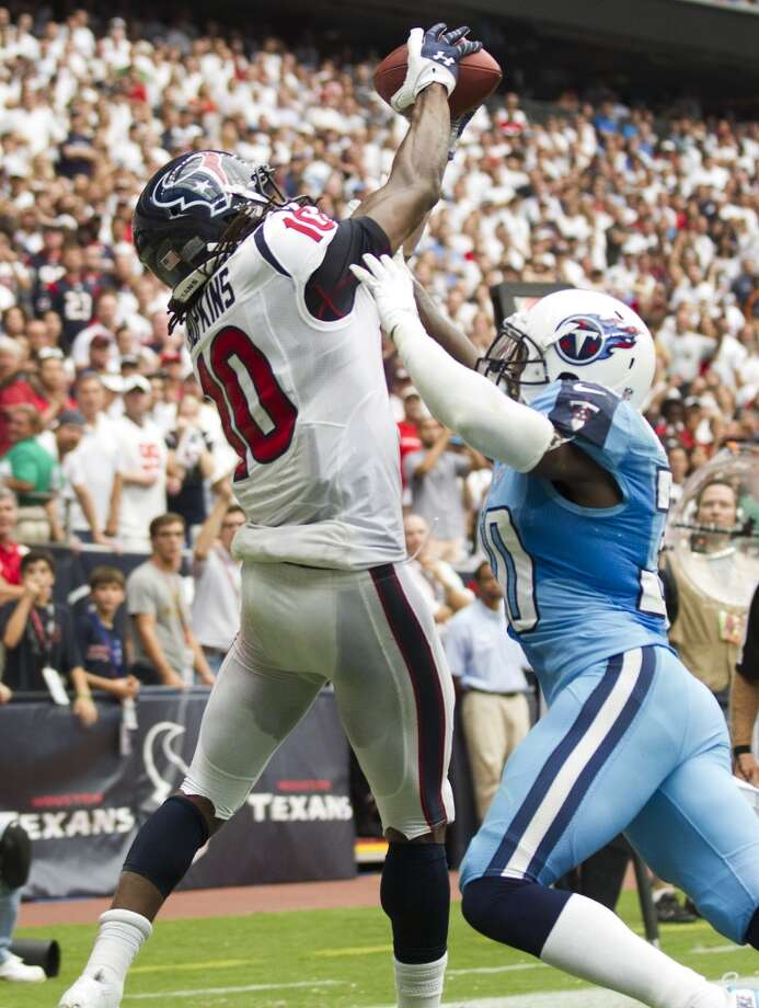 Texans 30, Titans 24 (OT) Sept. 15, 2013