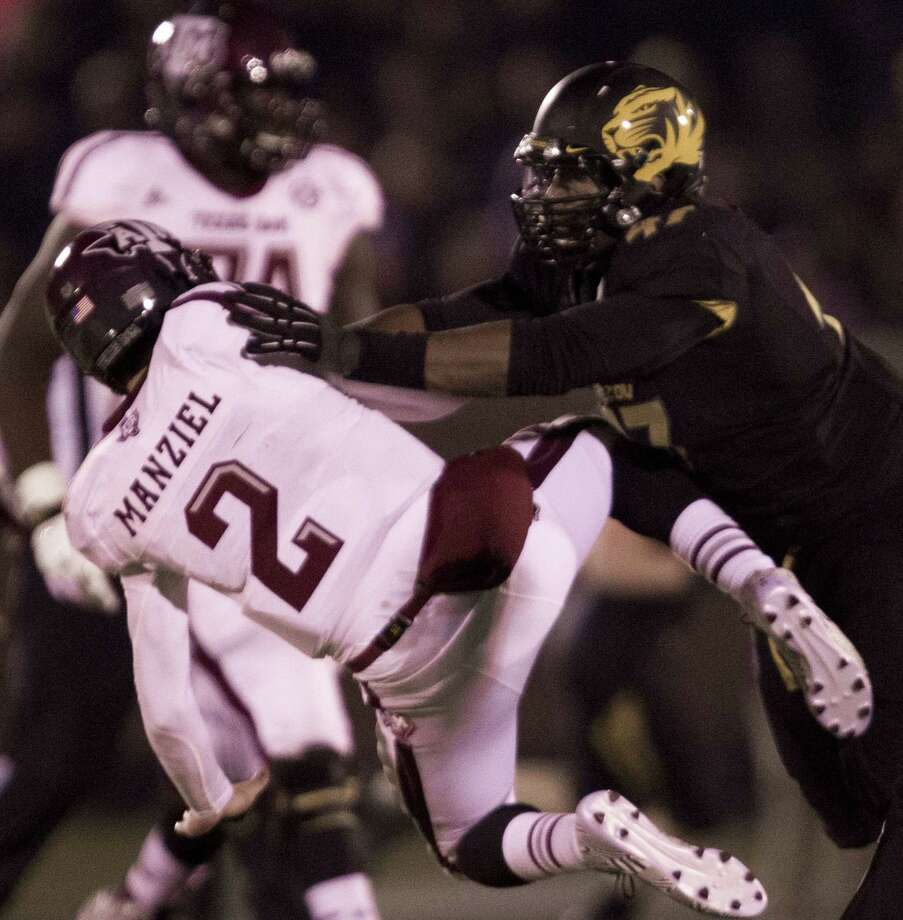 Texas A&M quarterback Johnny Manziel (2) said the Aggies' loss Nov. 30 at Missouri was one of the low points of the season. Manziel said he thought the Aggies had begun to lose confidence after falling to Auburn 45-41 on Oct. 19 at College Station. Photo: SHANE KEYSER, MBR / Kansas City Star