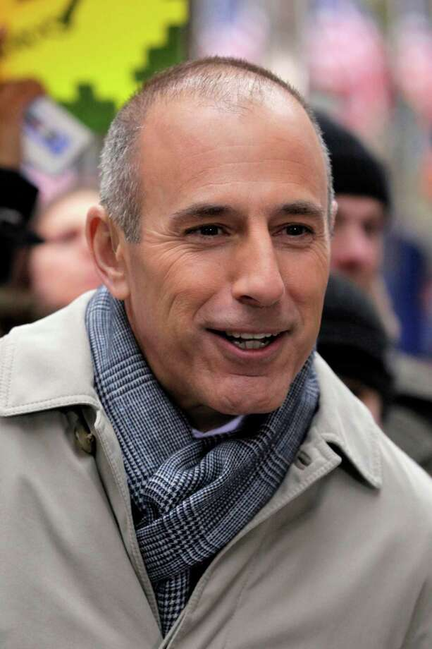 "FILE - In this Nov. 7, 2012 file photo, Matt Lauer, co-host of the NBC ""Today"" television show, appears during a segment of the show in New York's Rockefeller Center. The Daily Beast reported Monday, March 11, 2013 that Lauer was ready to take the fall last year for troubles on the morning show, but Steve Burke, the chief executive of NBC Universal, dismissed the idea. (AP Photo/Richard Drew, File) Photo: Richard Drew / AP"