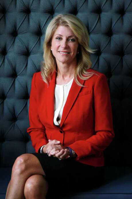 Texas Senator Wendy Davis is interviewed by La Voz at Hotel Indigo on Wednesday, Oct. 9, 2013, in Houston. ( Mayra Beltran / Houston Chronicle ) Photo: Mayra Beltran, Staff / © 2013 Houston Chronicle