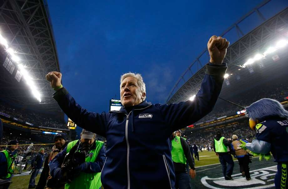 1. The Seahawks accomplished all of their regular season goals  Pete Carroll's fourth Seahawks team finished the 2013 season at 13-3, tied for the best record in team history with Mike Holmgren's 2005 squad, which advanced all the way to Super Bowl XL. Seattle won perhaps the toughest division in football — the NFC West sports three teams with double-digit wins — and staked its claim to the top seed in the NFC, an all-important advantage when you have a home field as influential as CenturyLink.  This season wasn't all pretty, though. There were plenty of bumps along the way. Offensive inconsistency, penalties, untimely injuries, penalties, another round of league suspensions and penalties all provided the Hawks with more than enough obstacles to overcome over the last four months. But the difficulties seemed to make the Seahawks a stronger group, and if that's the case, they should be better for it.  Seattle should enter the playoffs relatively healthy — save for the wide receiver position, where a season-ending knee injury knocked out Sidney Rice, and prized offseason acquisition Percy Harvin has yet to make an impact due to a nagging hip problem. Even so, players like Golden Tate, Doug Baldwin and Jermaine Kearse have all stepped up and proven to be dependable targets for Russell Wilson.  The extra week off should give players like tight end Luke Willson, defensive tackle Brandon Mebane and Kearse time to heal up before a playoff run. And Seahawks fans will also get a breather, able to watch next weekend's wild-card playoff round in peace following a dream regular season.  — Stephen Cohen Photo: Jonathan Ferrey, Getty Images