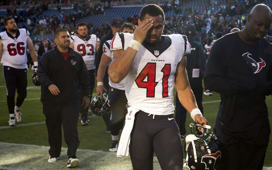 #1 Houston Texans 2013 record: 2-14 Photo: Smiley N. Pool, Houston Chronicle