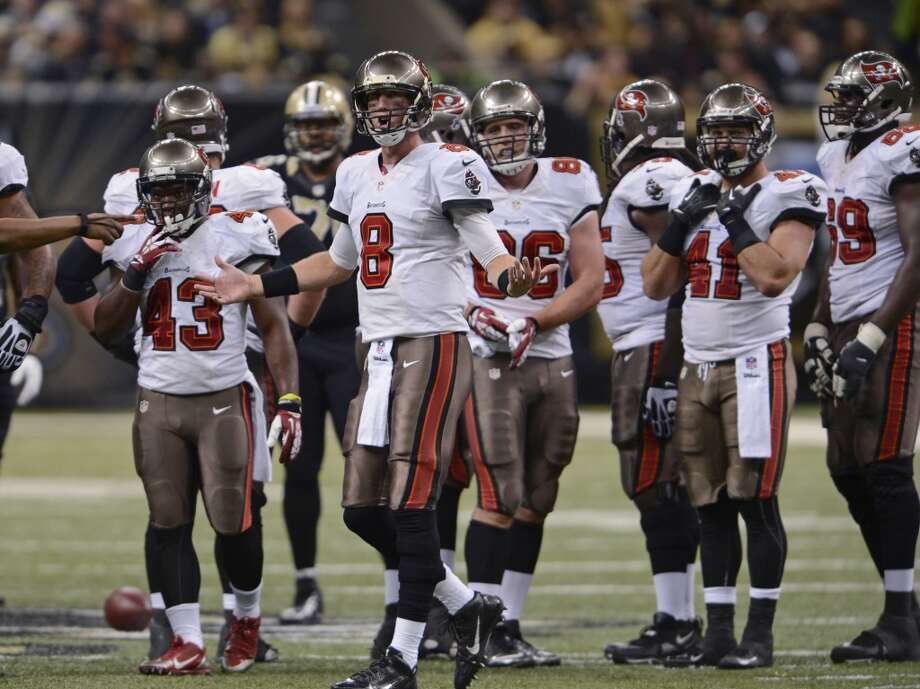 #7 Tampa Bay Buccaneers 2013 record: 4-12 Photo: Bill Feig, Associated Press