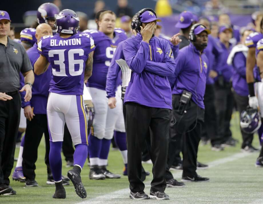 #8 Minnesota Vikings 2013 record: 5-10-1 Photo: Ann Heisenfelt, Associated Press