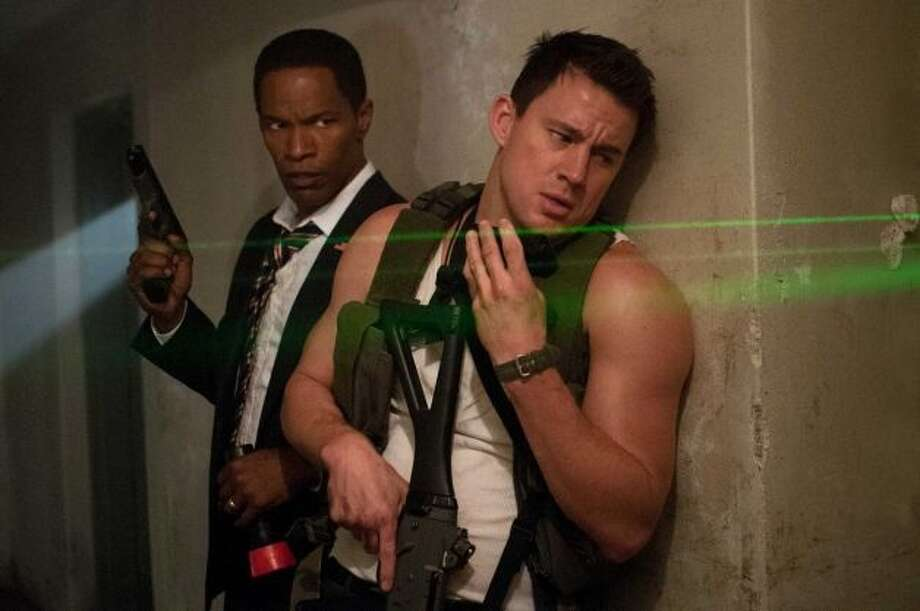 Best action movie -- WHITE HOUSE DOWN.