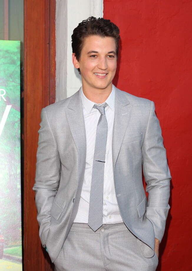 Best newcomer (male) -- Miles Teller Photo: JB Lacroix, WireImage / 2013 JB Lacroix