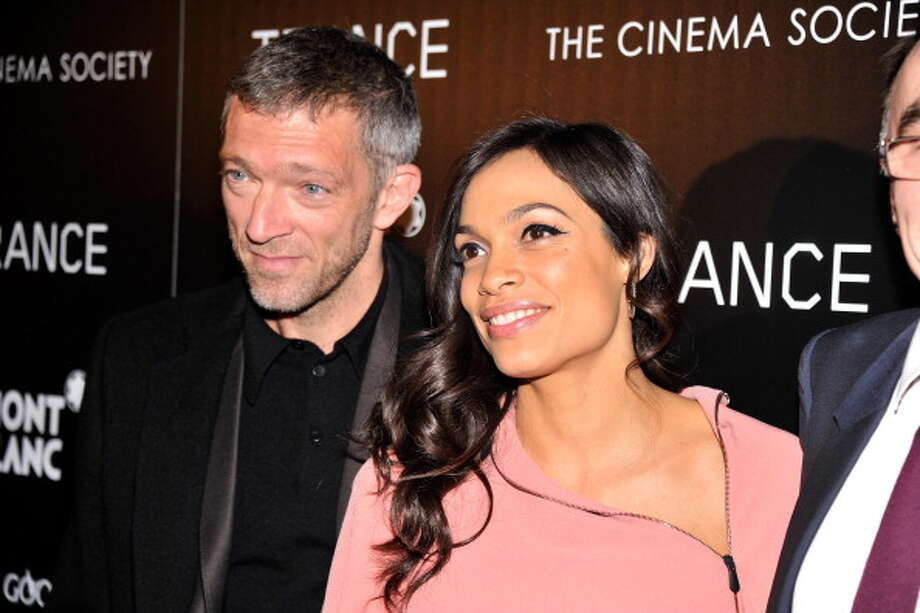 Best Love Scene -- Rosario Dawson and Vincent Cassel in TRANCE. Photo: Stephen Lovekin, Getty Images / 2013 Getty Images