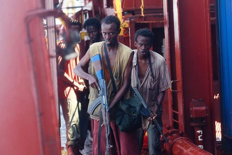 Supporting actor -- Barkhad Abdi in CAPTAIN PHILLIPS.