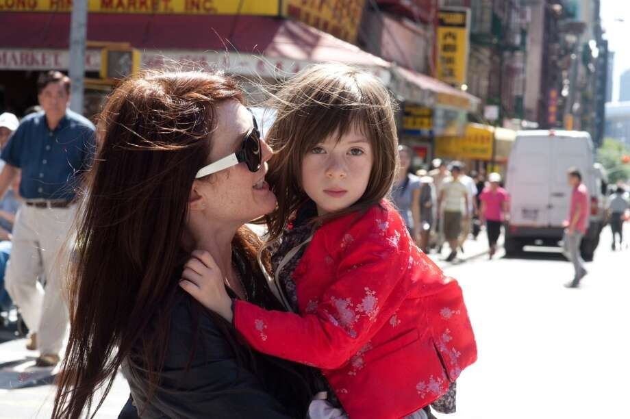 Best actress in a small part -- Julianne Moore as the scary Mommy in WHAT MAISIE KNEW. Photo: JoJo Whilden