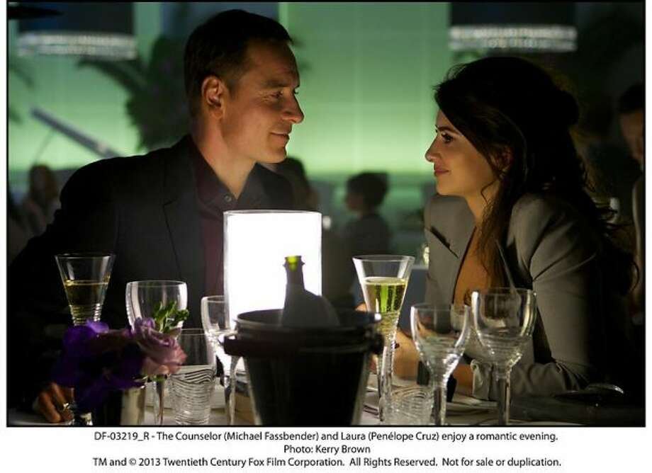 Best love scene -- Penelope Cruz and Michael Fassbender in THE COUNSELOR.