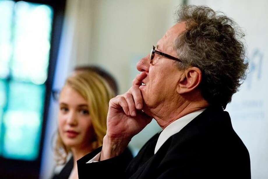 Supporting actor -- Geoffrey Rush in THE BOOK THIEF.