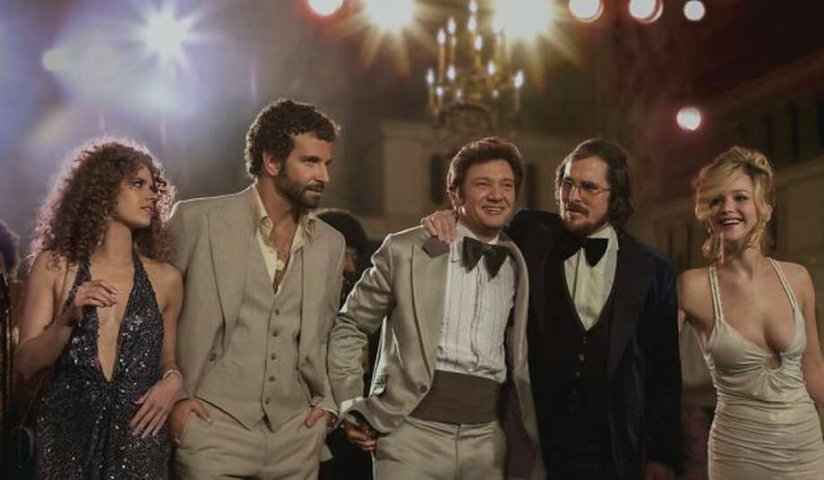 Best Ensemble -- AMERICAN HUSTLE.