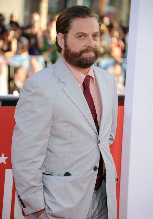 Best performance in a bad or not very good movie --  Zach Galifianakis in HANGOVER 3. Photo: AFP, AFP/Getty Images