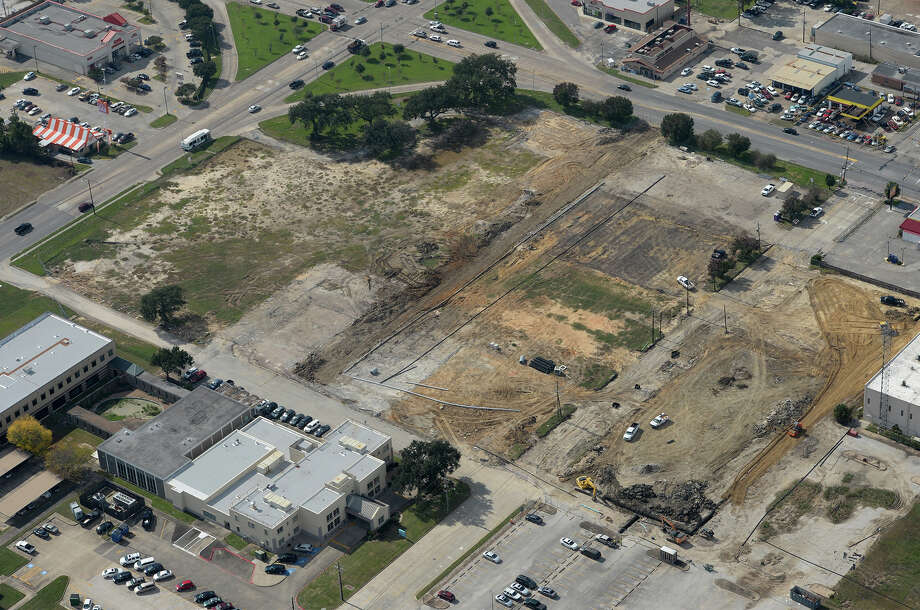 Former home to Baptist Hospital and future home of H-E-B on College Street and 11th Street.